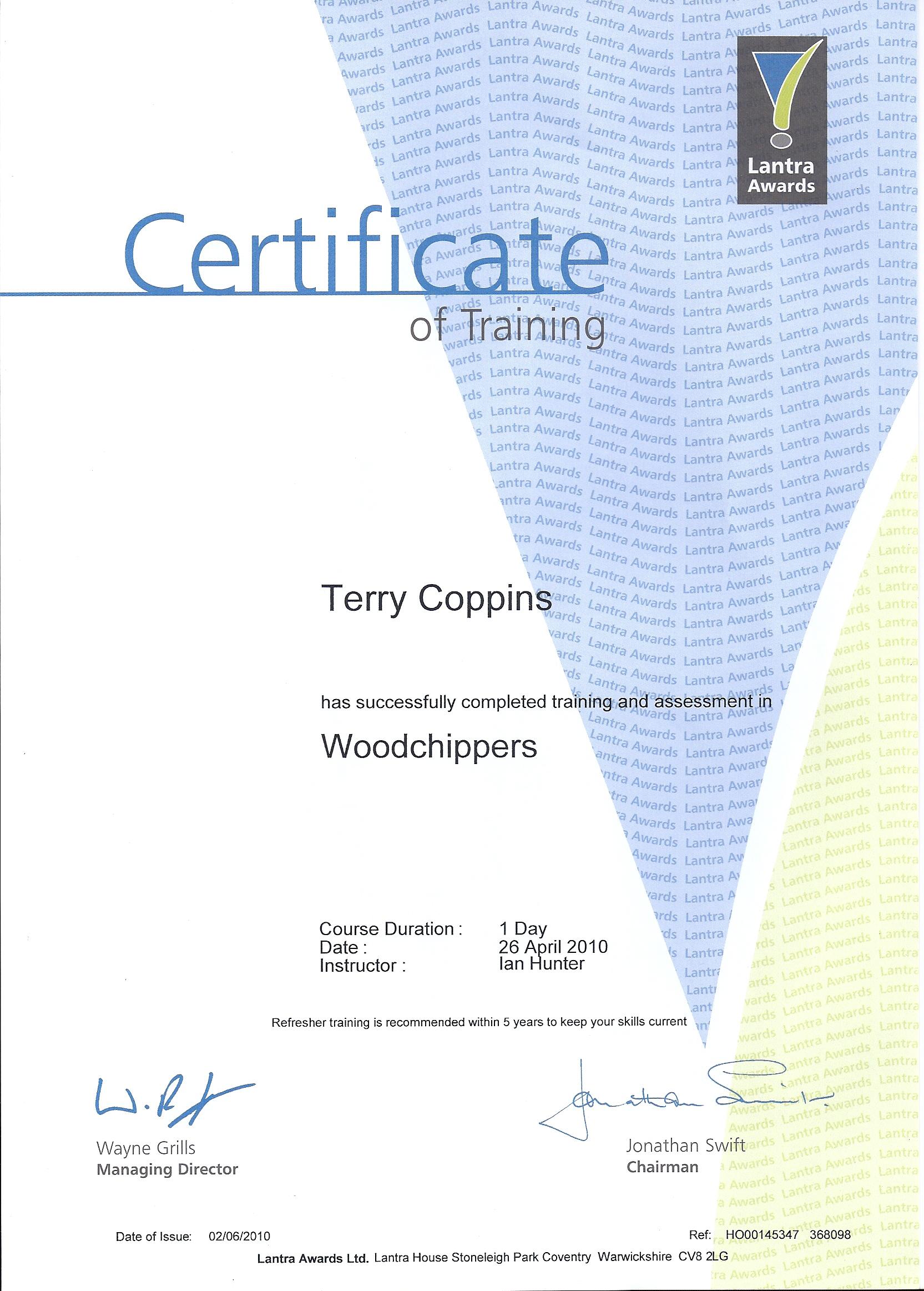 Lantra Woodchipper