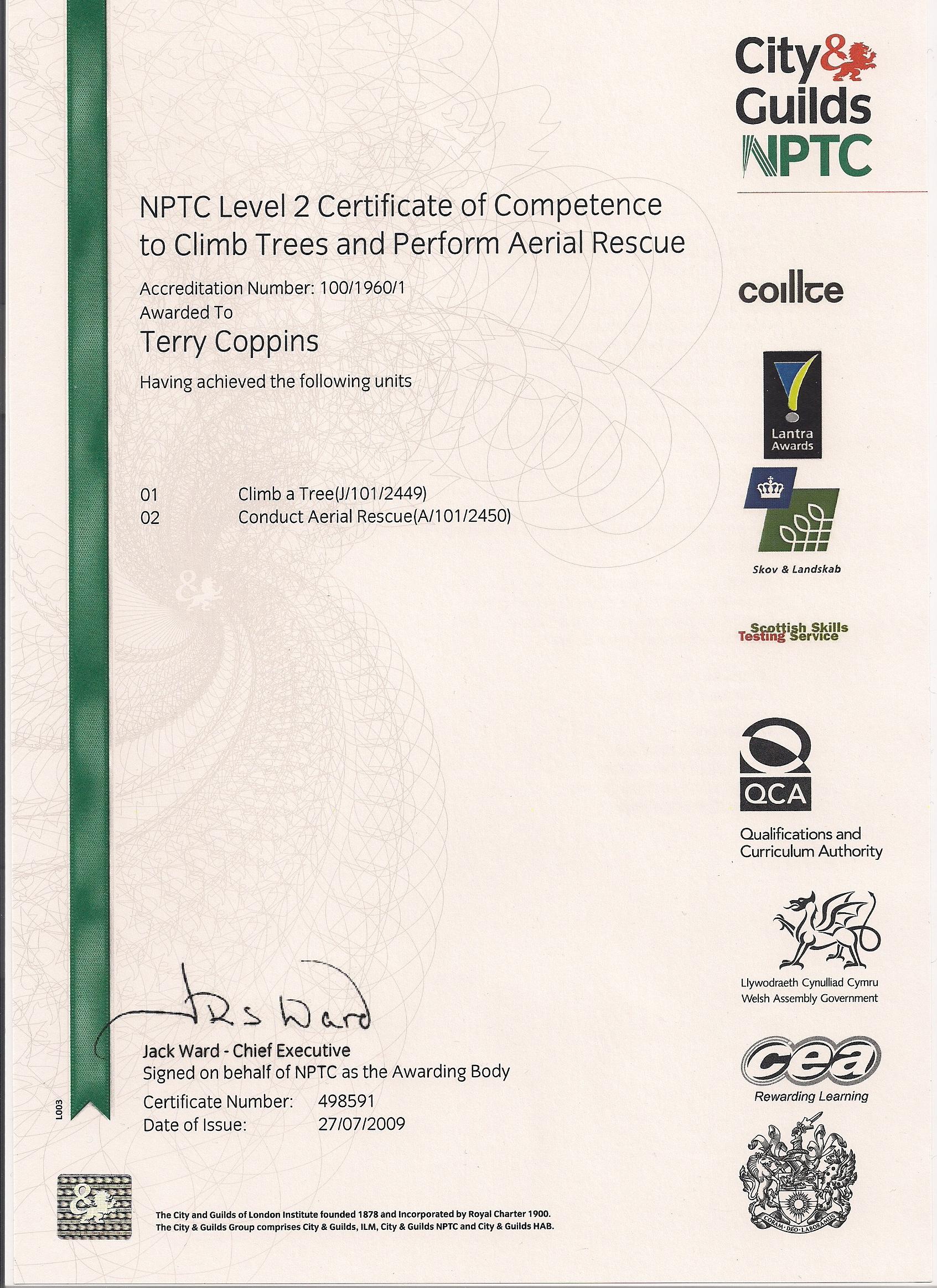 NPTC cs38