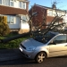 Storm Damaged Tree & car in Eastwood